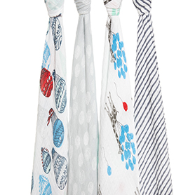 dream ride 4-pack classic swaddles