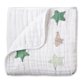 up, up & away - elephant classic dream blankets