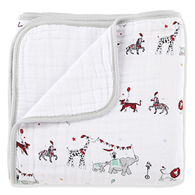 vintage circus classic dream blankets