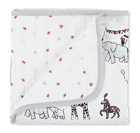 vintage circus classic mini dream blanket