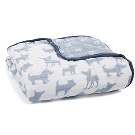 waverly-pup classic dream blanket