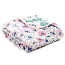 trail blooms - flora classic mini dream blanket