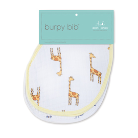 jungle jam - giraffe + monkey classic burpy bibs
