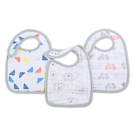 leader of the pack 3-pack classic snap bibs