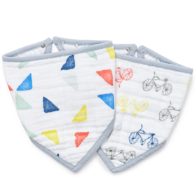 leader of the pack 2-pack bandana bibs