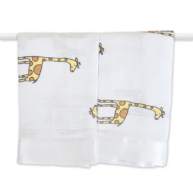 duke - giraffe classic security blankets
