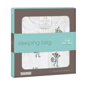 jungle jam - monkey classic sleeping bags