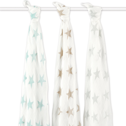 milky way bamboo swaddles
