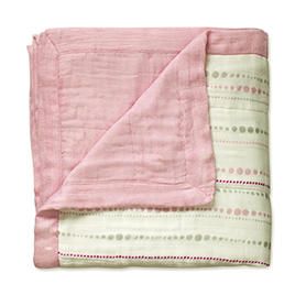 tranquility -bead + solid rose bamboo dream blankets