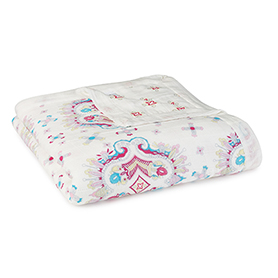flower child - kaleidoscope  bamboo dream blankets