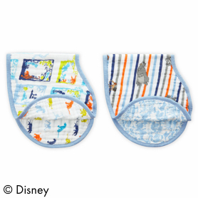 the jungle book 2-pack burpy bibs