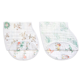 lion king 2-pack burpy bibs