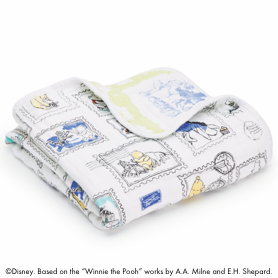 winnie the pooh disney baby mini dream blanket