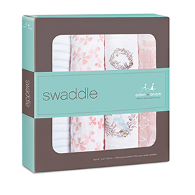 birdsong 4-pack classic swaddles