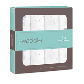 night sky reverie 4-pack classic swaddles