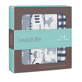 waverly 4-pack classic swaddles