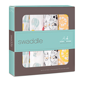 year of the pig 4-pack classic swaddles