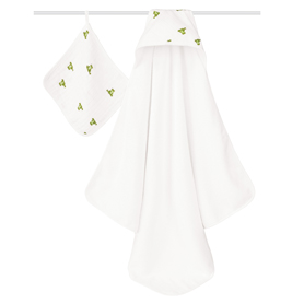 mod about baby hooded towel sets