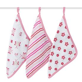 princess posie washcloth sets