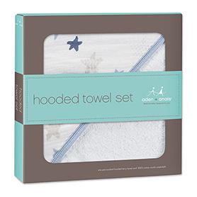 rock star hooded towel sets