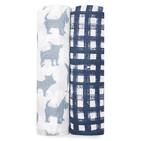 waverly 2-pack classic swaddles