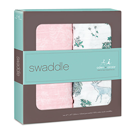 forest fantasy 2-pack classic swaddles