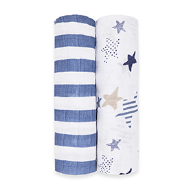 rock star 2-pack classic swaddles