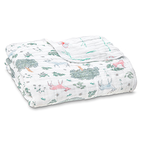 forest fantasy - deer classic dream blanket