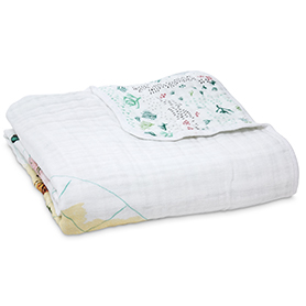around the world - eng. map classic dream blanket
