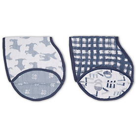 waverly 2-pack classic burpy bibs