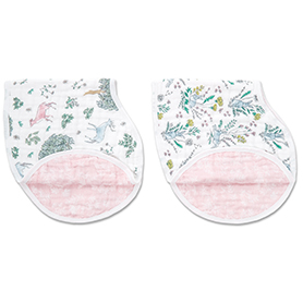forest fantasy 2-pack classic burpy bibs