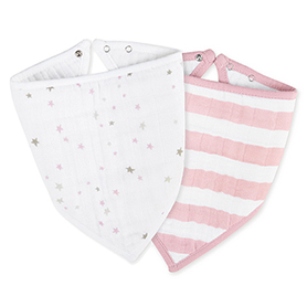 lovely + heartbreaker bandana bibs