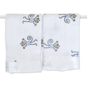 amelia - monkey classic security blankets