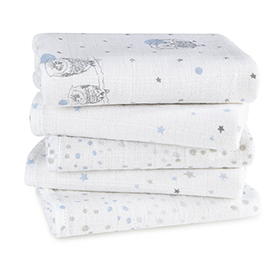 night sky muslin hanky