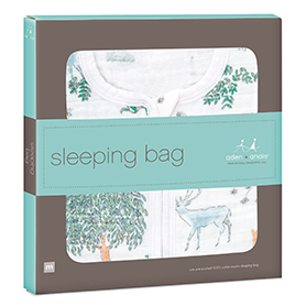 forest fantasy - deer classic sleeping bag