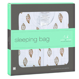 dahlias - gold leaf classic sleeping bag