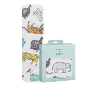 jungle wild classic swaddle