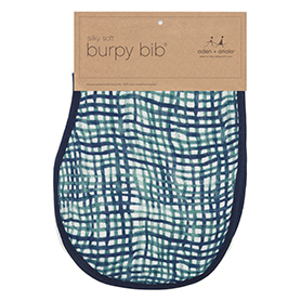 seaport - net silky soft burpy bib