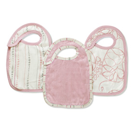 tranquility bamboo snap bibs