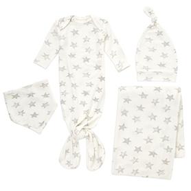 star 0-3 months snuggle knit newborn gift set