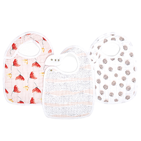 picked for you 3-pack classic snap bibs