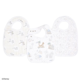 my darling dumbo 3-pack classic snap bibs