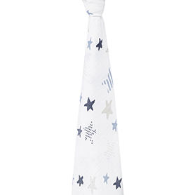 rock star - funny star classic swaddle