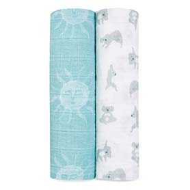 now + zen 2-pack classic swaddles