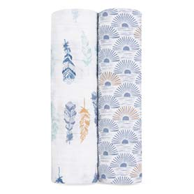 sunrise 2-pack classic swaddles