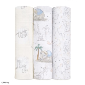 my darling dumbo 3-pack classic swaddles