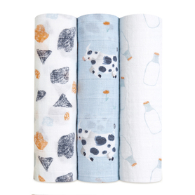year of the cow 3-pack classic swaddles
