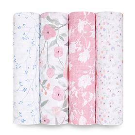 ma fleur 4-pack classic swaddles