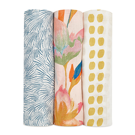 marine gardens 3-pack silky soft swaddles