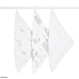 my darling dumbo 3-pack classic washcloths